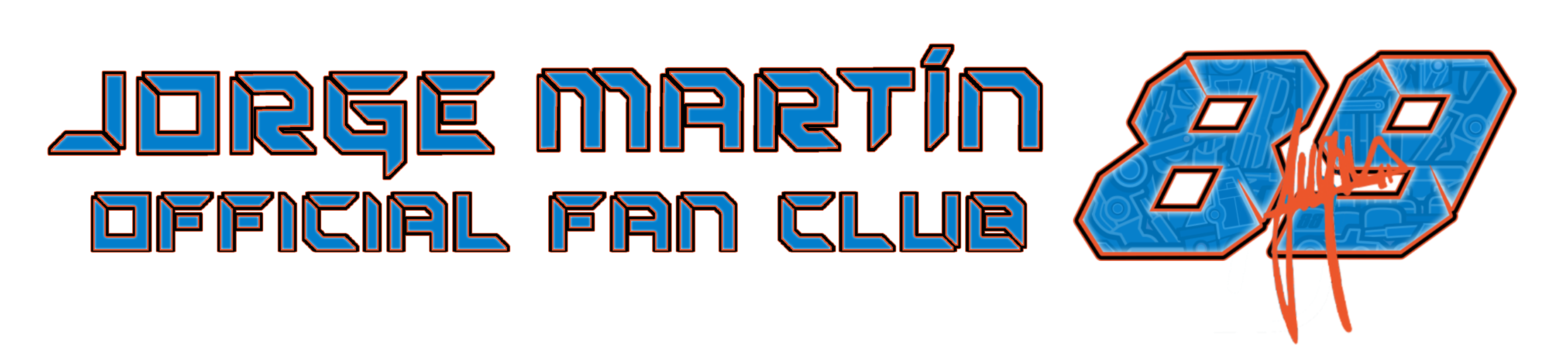 Logo Fan Club Jorge Martín 88